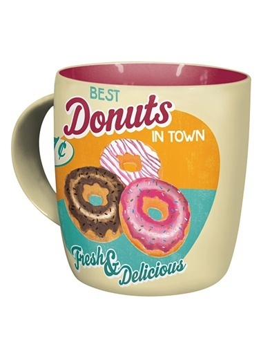 Nostalgic Art Donuts Kupa Renkli